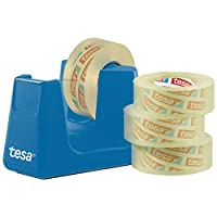 tesa 53908-00000 Easy Cut 桌面分配器 智能 蓝色 33m:19mm 53908