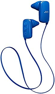 JVC 无线耳塞软糖无线耳塞 白色 (HAFX9BTW) HAF250BTA Wireless Earbud Ear Nozzle Blue