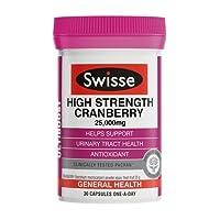 Swisse 高含量蔓越莓颗粒 30粒(澳洲品牌)(包税)