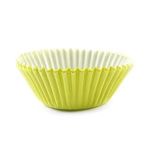 纸杯蛋糕垫 绿色 Mini: 1-1/4 Inch AC074-100