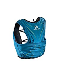 Salomon 萨洛蒙 中性 ADV SKIN 12 SET 户外运动越野跑步休闲双肩背包 L40410400 浪花蓝 M/L