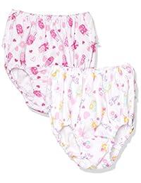 GALOE 2条装 儿童内裤 水果冰块图案、带蕾丝/*棉