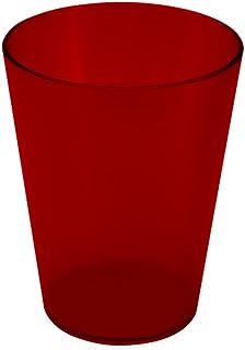 Coza Design 2020201/0111 耐用塑料杯,均码,红色