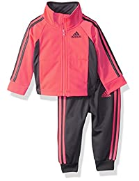 Adidas Girls' Zip Jacket and Pant Set