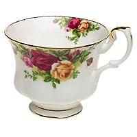 Royal Albert Teacup Old Country Roses 0.20 磅,骨瓷,多色,11.4 x 8.9 x 7.6 厘米
