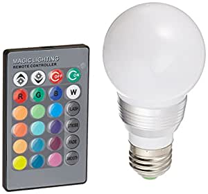 GF Pro LED Bulb Color Changing Dimmable with Remote Control (LEDbulb5pk)