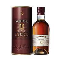 Aberlour 12年双桶单一麦芽苏格兰威士忌700ml(亚马逊自营商品, 由供应商配送)