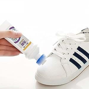 和匠(worldlife) 小白鞋神器增白去污剂鞋油鞋刷 刷鞋洗鞋擦鞋 运动鞋白鞋清洁剂 (一支装)