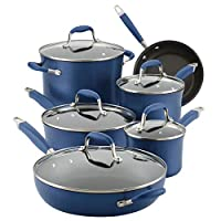Anolon 硬质阳极氧化铝厨具 靛蓝色 11