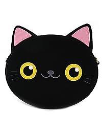Loungefly 黑色猫脸斜挎包