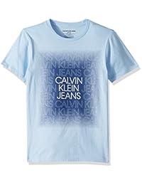 Calvin Klein 卡尔文·克莱恩 男童款大号圆领T恤