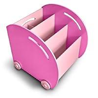 My Note Deco 066210 – 家具和装饰 – Adda 轮式货架单元 玫瑰红 066210