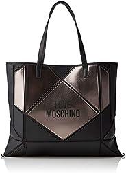Love Moschino Jc4120pp18lx100b,中性成人,黑色(橡胶/透明),37x2x45厘米(宽x高)