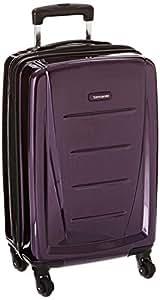 Samsonite 新秀丽 Winfield 2系列 时尚商务版 万向轮 20寸 拉杆箱 紫色