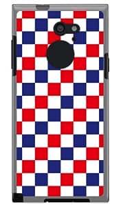 SECOND SKIN 三色旗 旗帜 (软质TPU透明) / for arrows RM02/M02/MVNO智能手机(SIM免费终端) MFJM02-TPCL-701-J038