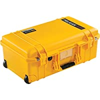 Pelican Air 1535 Case 对开式 黑色015350-0011-240 No Foam 黄色