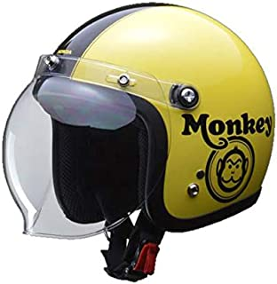 Honda 本田 Monkey 头盔 黄色 / 黑色 L (59-60厘米以下) 0SHGC-JC1C-YL
