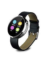 YOOZOO优者 DM360系列 智能手表 测心率 即时双向通话功能 媒体功能:播放音乐、远程拍照 健康计步 睡眠质量检测 智能提醒 语音对讲 防丢寻找 生活防水 吸附式充电 银色 DM360-3
