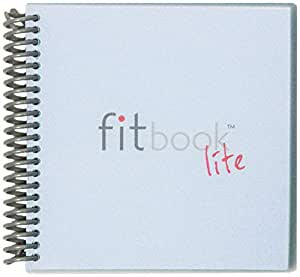 Fitlosophy Fitbook Lite 6 周健身*食品日记和餐具规划器,15.2 cm 宽 x 14.8 cm 长