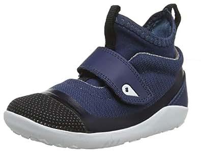 Bobux 中性 儿童 IW Dimension Hi Top 高帮运动鞋, 蓝色(蓝色), 24 EU