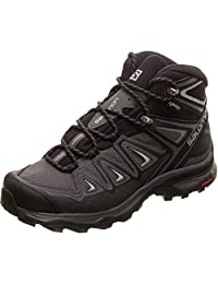 [萨洛蒙] 徒步鞋 X Ultra 3 MID GTX W 女士 Magnet/Black/Monument 24.0 cm