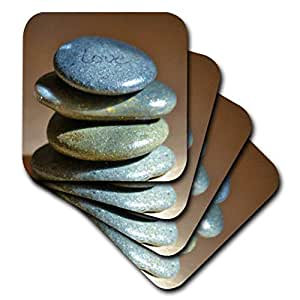 patricia sanders 摄影–ZEN rocks- love- 励志摄影–杯垫 Not Applicable set-of-4-Soft