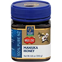 Manuka Health 麦卢卡蜂蜜 MGO 250+ (250g) - 源自新西兰,经认证的甲基乙二醛含量
