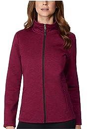 32 DEGREES 女式羊毛科技舒适内衬拉链夹克