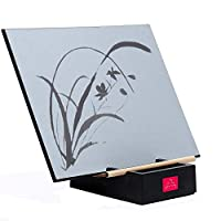 The Original Buddha Board: Relaxing Water Drawing, Painting & Writing Board with Bamboo Brush & Stand