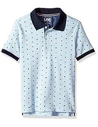 LEE 男孩大短袖 Polo 衫