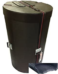 Humes & Berg Enduro DR3061BKSP 15-Inch Skirt Steel Drum Case with Foam