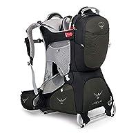 Osprey 中性 珀蔻钻石版AG Poco AG 20 婴儿背架 城市户外徒步婴儿儿童背架反重力背负系统背板可调节带儿童安全带耐磨舒适带遮阳罩带娃出行必备 三年质保终身维修(两种LOGO随机发)