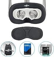 面罩 & 面罩 & 面罩 & 镜片保护罩 防尘罩 适用于Oculus Queset,专业硅胶保