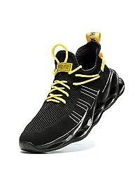 Nihaoya 男式运动散步跑步网球鞋时尚运动鞋