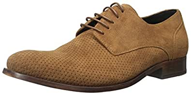 Kenneth Cole New York Men's Not AF-Raid Oxford, Tobacco, 7.5 M US