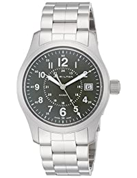 [HAMILTON]HAMILTON 手表 卡其色 飞行 石英 日期 H68201163 男士 【正规进口商品】