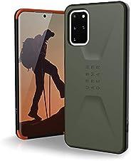 URBAN ARMOR GEAR UAG Samsung Galaxy S20 Plus [6.7 英寸屏幕] 日常[橄榄石] 时尚保护羽毛轻军级跌落测试手机壳