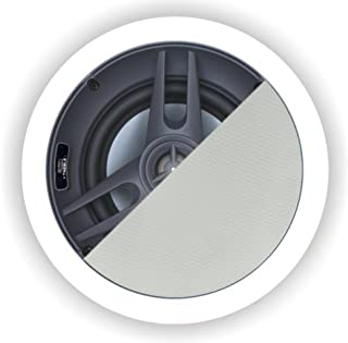 OSD AUDIO ace50013.97cm 75W trimless in-ceiling speaker paintable Grill (白色,双)