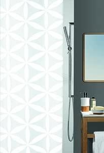 Spirella 浴帘纺织设计 Rania-white 10.10418