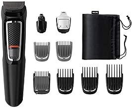 Philips 飞利浦 3000 系列一体式修剪器适用于胡须、*和身体,鼻毛修剪器和充电支架 - MG3740/13