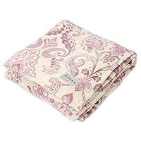 東京西川 毛毯 粉色 單人用 輕量 日本制造 My Model 裝飾圖案 FQ08060021P