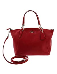 Coach Leather Small Kelsey 斜挎包粉色