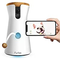 Furbo Dog Camera: Treat Tossing, Full HD Wifi Pet Camera and 2-Way Audio, Designed for Dogs, Works with Amazon Alexa (As Seen On Ellen)