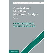 Classical and Multilinear Harmonic Analysis: Volume 1 (Cambridge Studies in Advanced Mathematics Book 137) (English Edition)