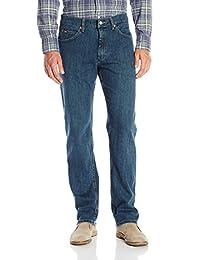 Lee 男式普通款直筒牛仔裤