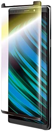 "Galaxy Note9 SC-01L/SCV40 玻璃膜 ""GLASS PREMIUM FILM"" 超立體全玻璃 黑色/防藍光/0.33mm LP-GN9FGFRBCBK"