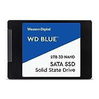 WD 西部数据蓝色固态硬盘 蓝色 2TB