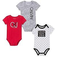 Calvin Klein 男宝宝连体衣 3 件套