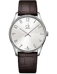 Calvin Klein 卡尔文克莱恩 美国品牌 瑞士制造 石英男士手表 K4D211G6 (亚马逊进口直采)
