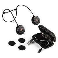 Zulu Audio 可穿戴藍牙揚聲器,防水,帶Snap-Lock 磁鐵。 (白色)Zulu Alpha 1201 1.83 x 0.75 x 1.83 inches 黑色
